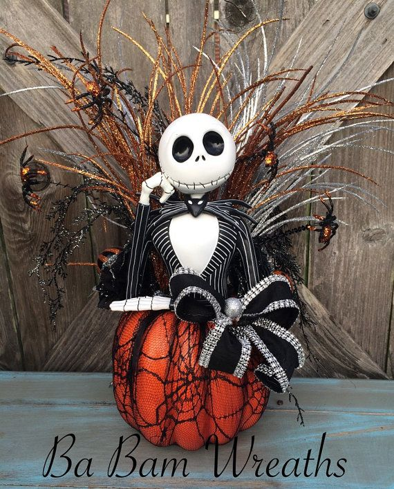 Jack skellington halloween decor nightmare before - Jack skellington decorations halloween ...