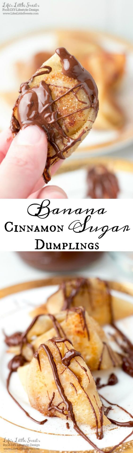 Banana Cinnamon Sugar Dumplings are a warm, buttery and delicious dessert. So easy to make with only 5 ingredients!