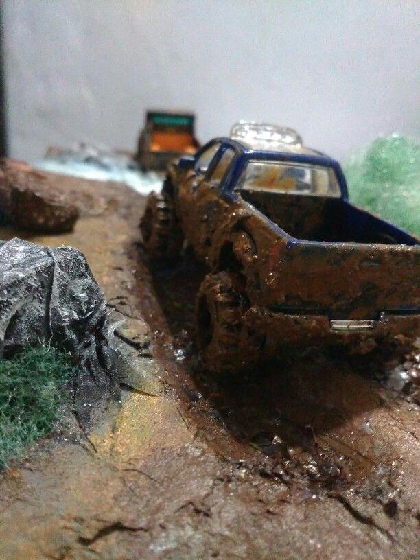 Hotwheels diorama