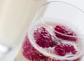 Champagne & Berries
