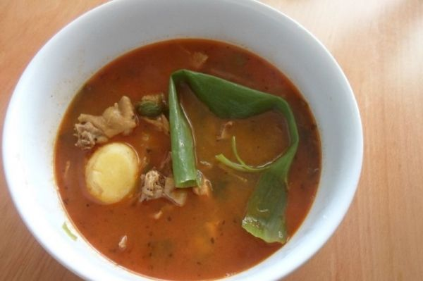 Traditional African Chicken Soup - The fever killer!