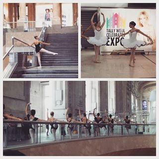 elisabetta.benini Che bel #Buongiorno Stazione di #milano invasa di #danza #loveit #stazionecentrale