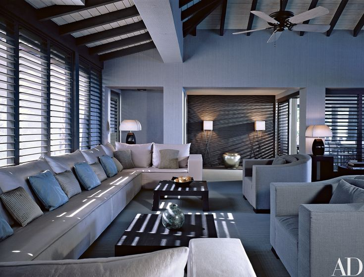 Giorgio Armani's Cliffside Retreat in Antigua Photos | Architectural Digest