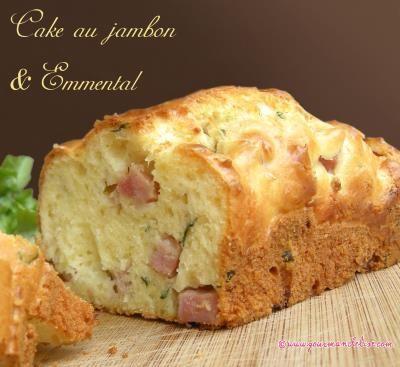 Cake Sal Ef Bf Bd Facile Jambon Fromage