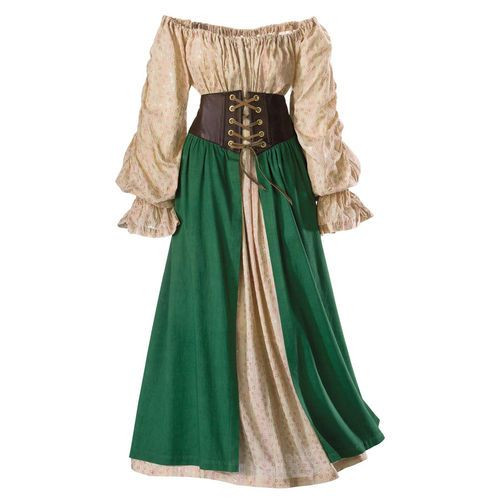 Tavern Wench Ensemble Costume The Pyramid Collection Renaissance Festival | eBay
