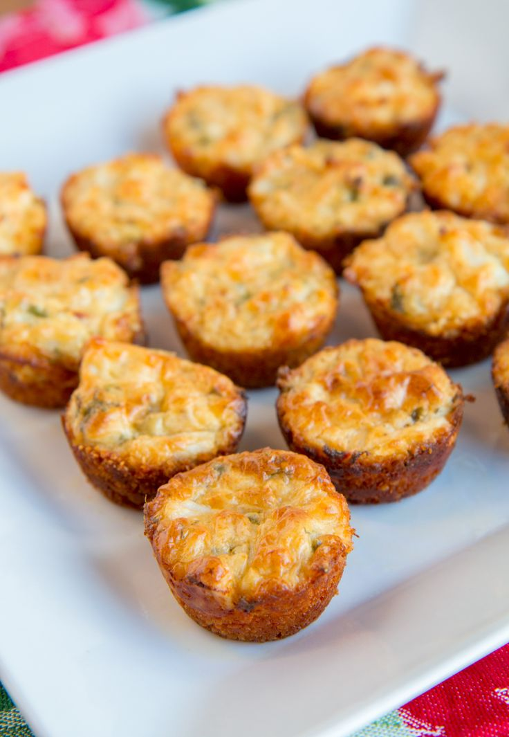 Parmesan Crab Cake Bites - These bite-sized apps are perfect for all your holiday parties. Plus – they look fancy, but are quick and easy to prepare. Simply mix together fresh lump crab meat with cream cheese, parmesan, and a few other condiments and seasonings; then scoop into parmesan-breadcrumb crusts (Made with Martin's Potato Bread) in a mini muffin tin; and bake. In no time, you'll have perfect little snacks to enjoy with your family and friends.