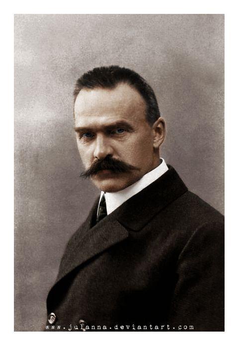 Józef Piłsudski ca. 1906