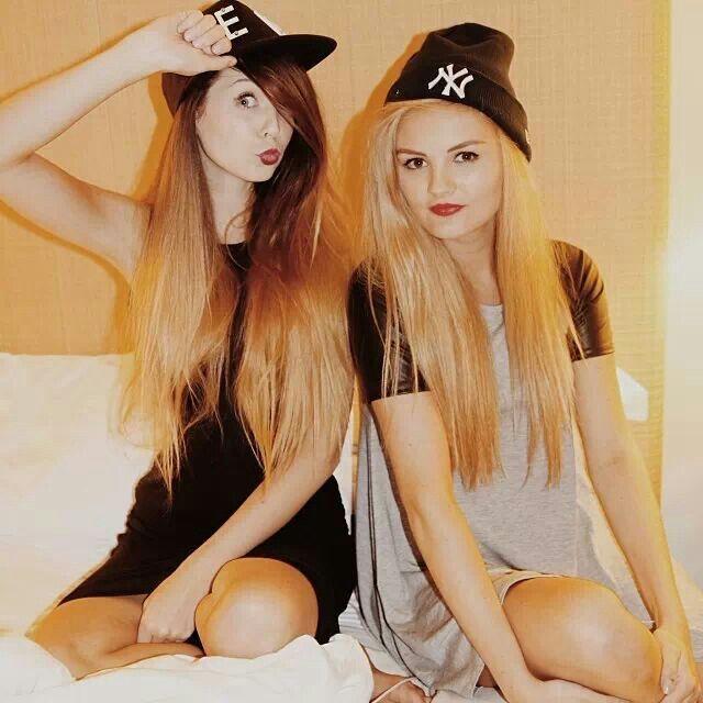 Zoe Sugg & Niomi Smart