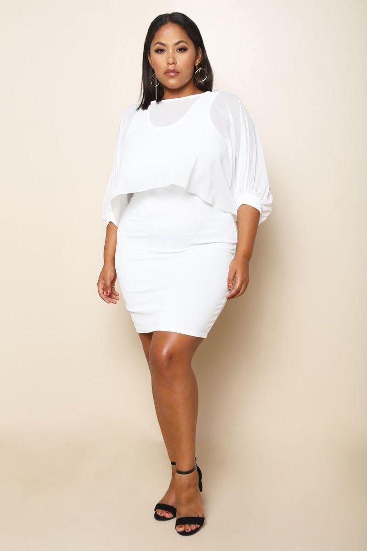 SoHo Girl Plus Size Mini Dress