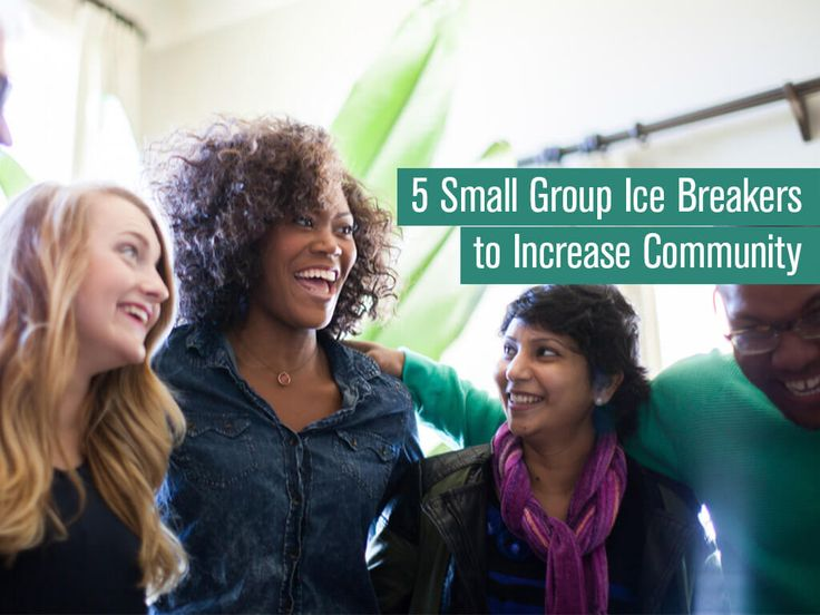 Adult group ice breakers