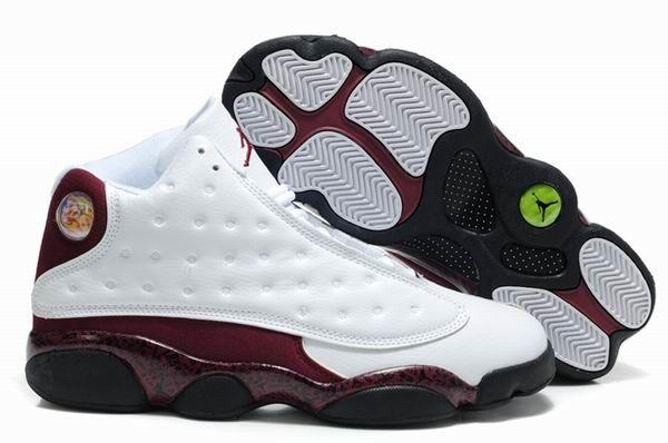 best service 072e2 91124 Air Jordan Retro 13 Shoes Obsidian White