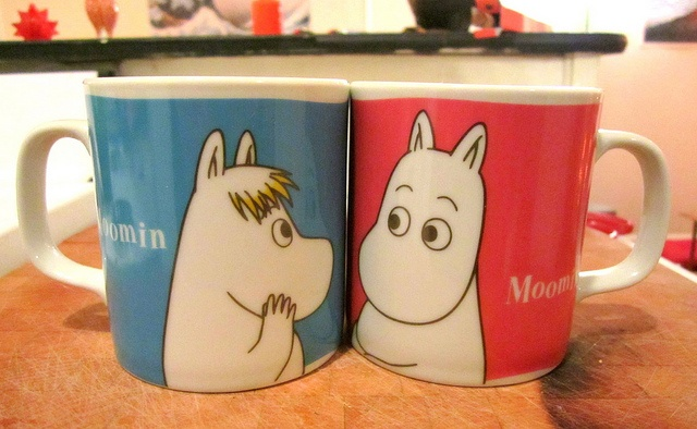 Cute Moomin mugs