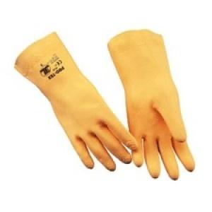 Guantes Pro Tex - Recubrimiento adicional para mayor resistencia. Interior flocado.  100% Látex natural.    http://www.janfer.com/es/riesgos-quimicos/970-guantes-pro-tex.html