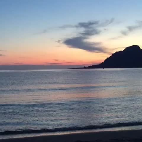 "Watch PlakiasCrete's Vine, ""#Plakias is a small #fishing #village and produces #sunset like this #Vine #Rethymno #Crete #Travel #Greece #Europe #plakiassuites"""
