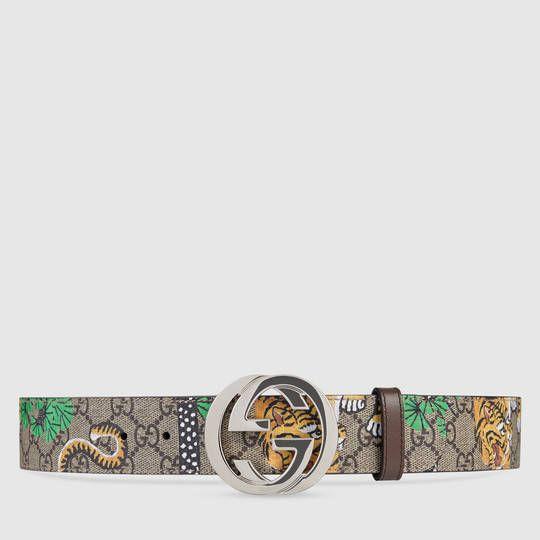 6e52a81df Gucci - Gucci Bengal GG Supreme belt | Fashion | Gucci online, Designer  belts, Belt