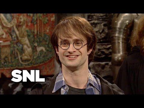 Harry Potter Epilogue - Saturday Night Live Daniel Radcliffe <3