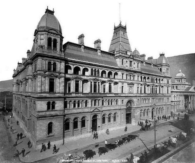 General Post Office, Adderley Street, Cape Town 1903 | Flickr - Photo Sharing!