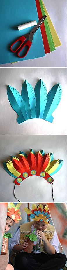 Traje de indio para carnaval y juegos - Artículos - 3-7 años - Niños Mail.Ru
