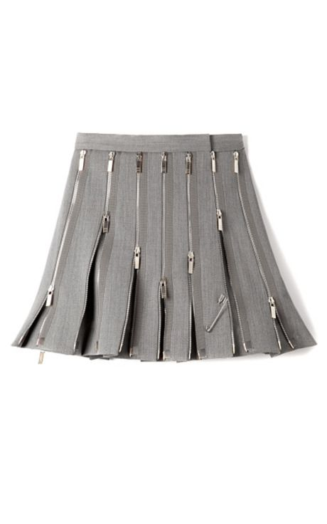 Shop M'O Exclusive: Wool Zipped Kilt by Thom Browne Now Available on Moda Operandi