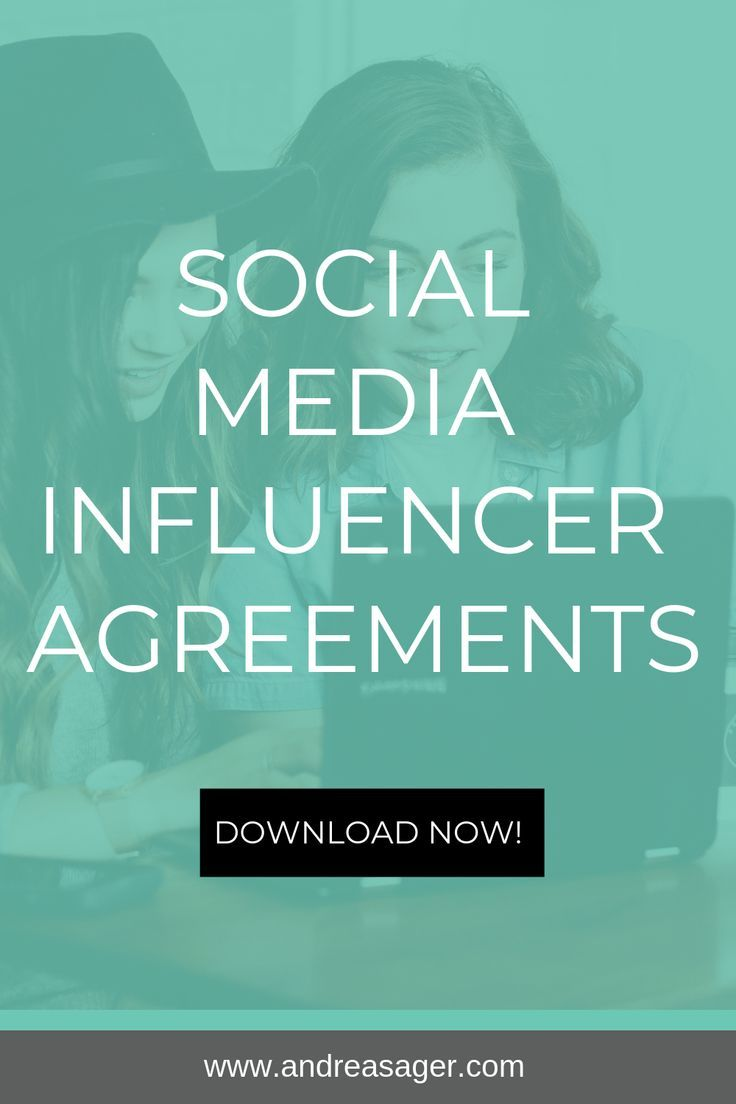 Social Media Influencer Agreement Template If You Re Looking To