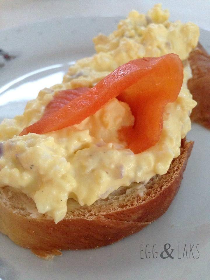 EggesalatPå kjøkkenbenken | God mat skal lagast med kjærleik og rause mål
