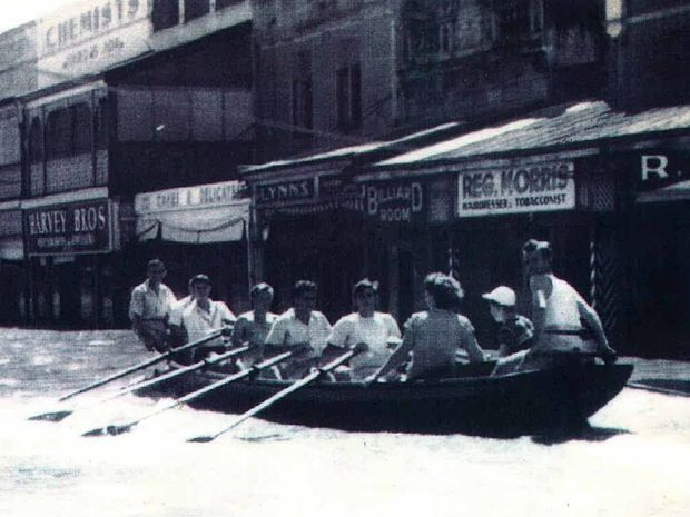 ROW YOUR BOAT: This flood boat, from the 1920s and 30s, is now on display at the Lawrence Museum. It is the last known flood boat in its original form in the Clarence Valley.
