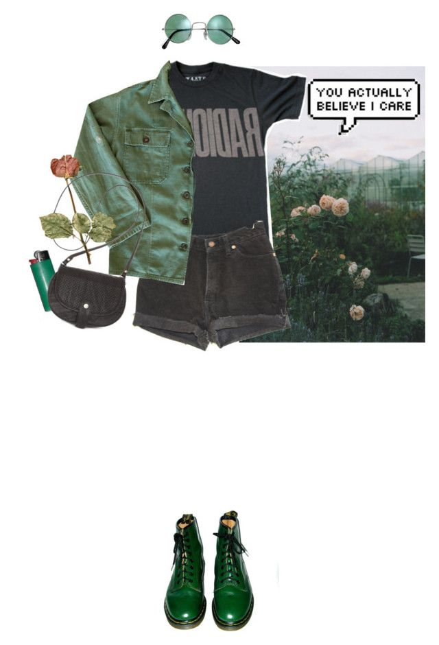 """""""I left my mind long ago"""" by purpleghost ❤ liked on Polyvore featuring Levi's, Dr. Martens, Roxy, women's clothing, women, female, woman, misses and juniors"""