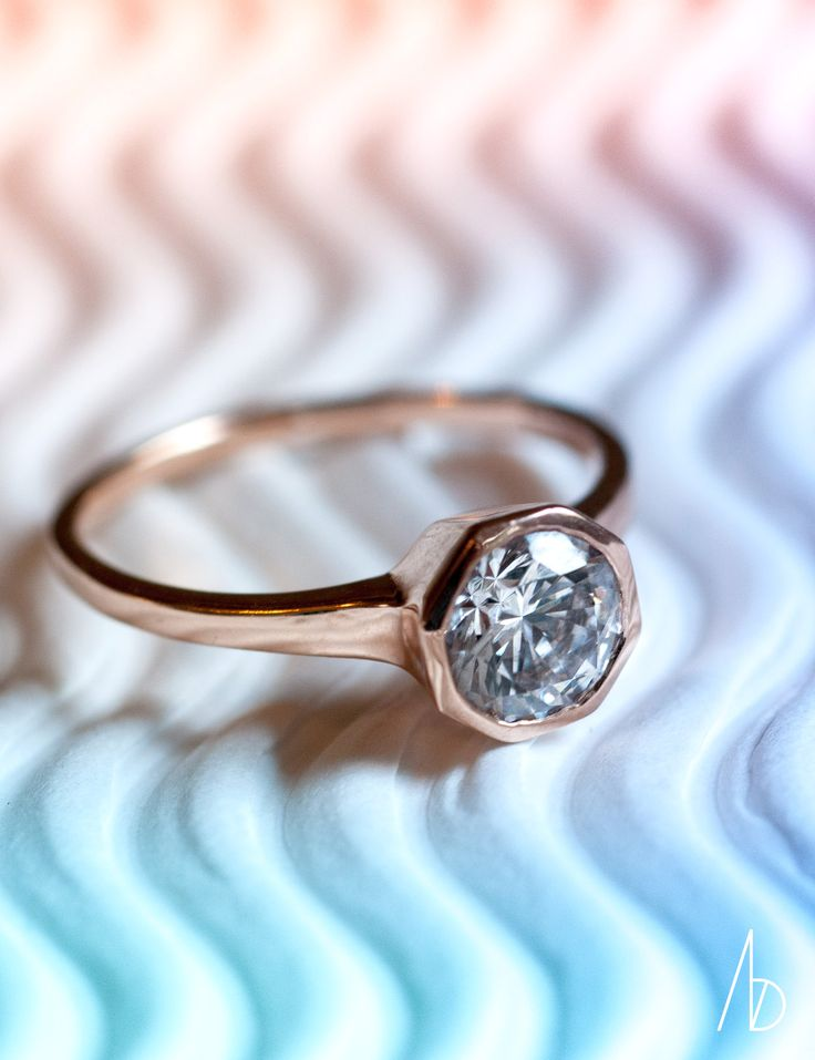 heat wave of engagement ring designs   Allium Ring   Bario Neal Wedding Jewelry  http://bario-neal.com/jewelry/engagement-rings/allium-ring