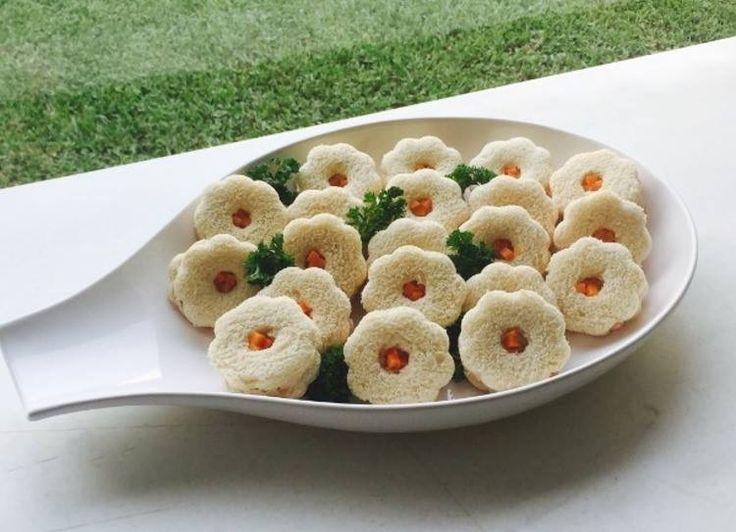 Sándwich de flor