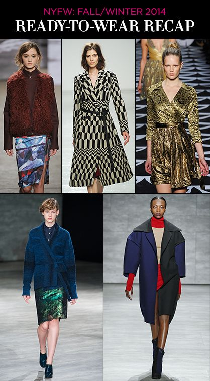 NYFW Fall 2014 RTW: Top Trends