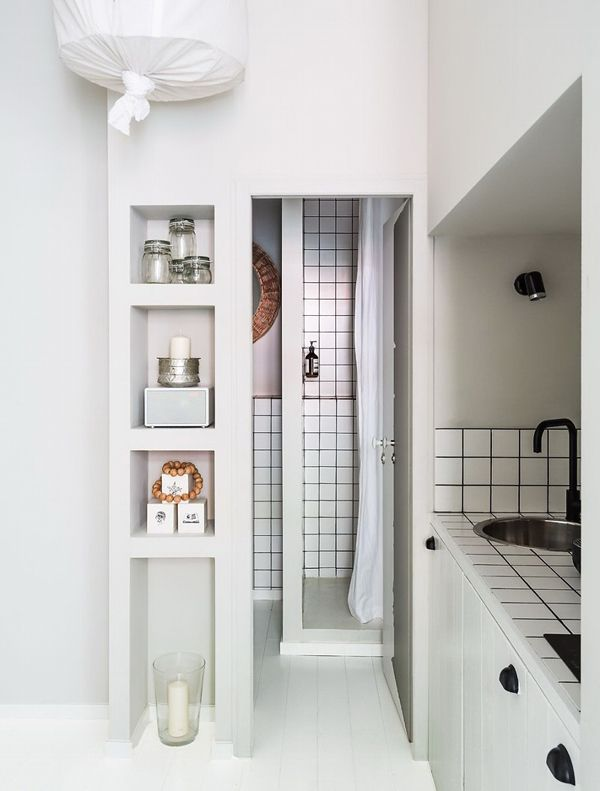 A VERY SMALL STUDIO APARTMENT IN FRANCE | THE STYLE FILES