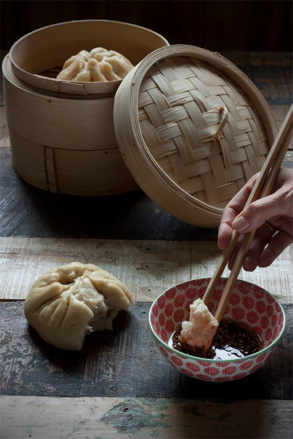 BAOZI, Bollos chinos rellenos. | Sweet And Sour