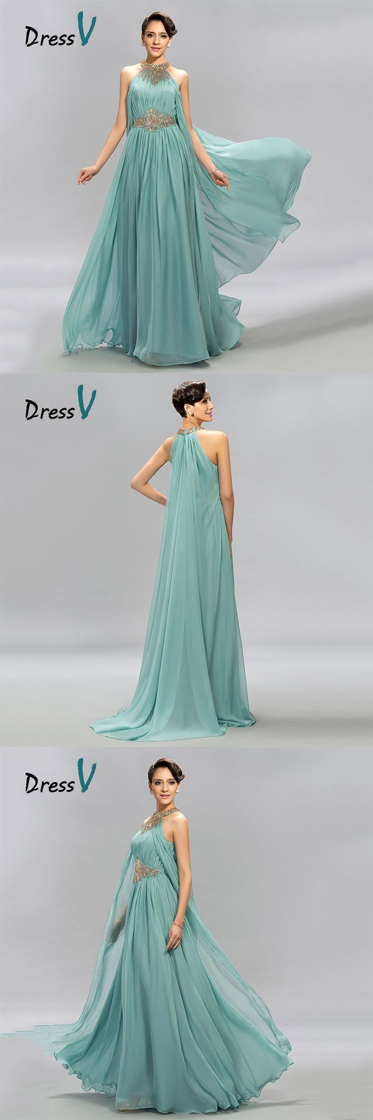 Feel like the aqua goddess herself. Olympus inspired teal prom dress is designed by DressV and brokered to you exclusively by Canagrill Trading Inc. Visit my portal amazing pricing, pin this!