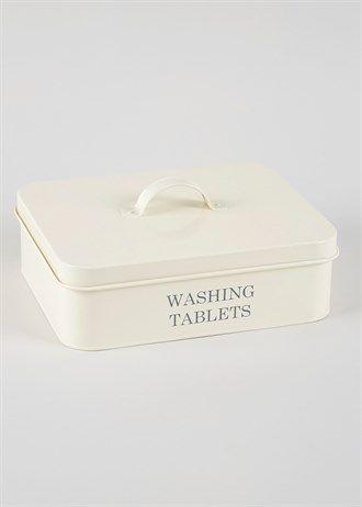 Washing Tablets Tin (21cm x 8cm)