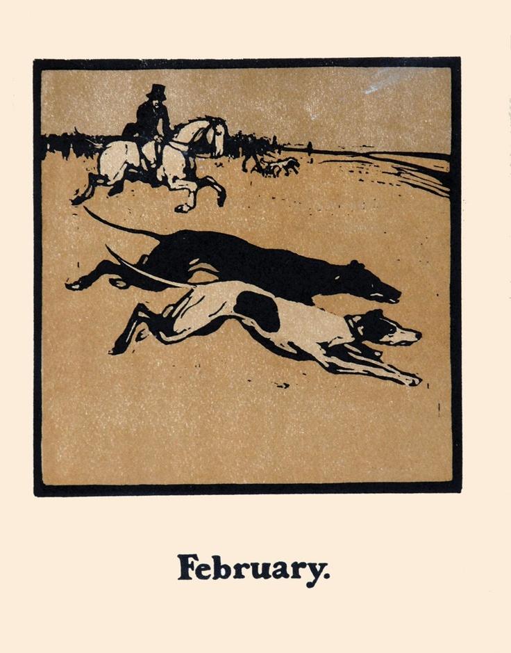 William Nicholson - Coursing (February)