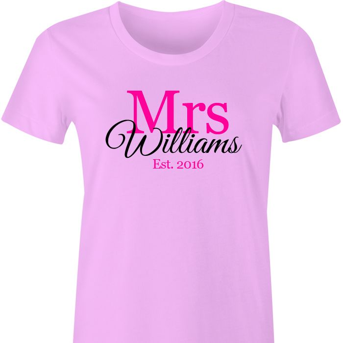 Mrs *Name* Personalised TShirt