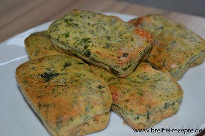 Lachs-Spinat-Küchlein für Babys