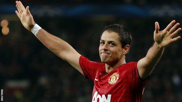 """""""Hello cutie"""" - Manchester United striker Javier Hernandez"""