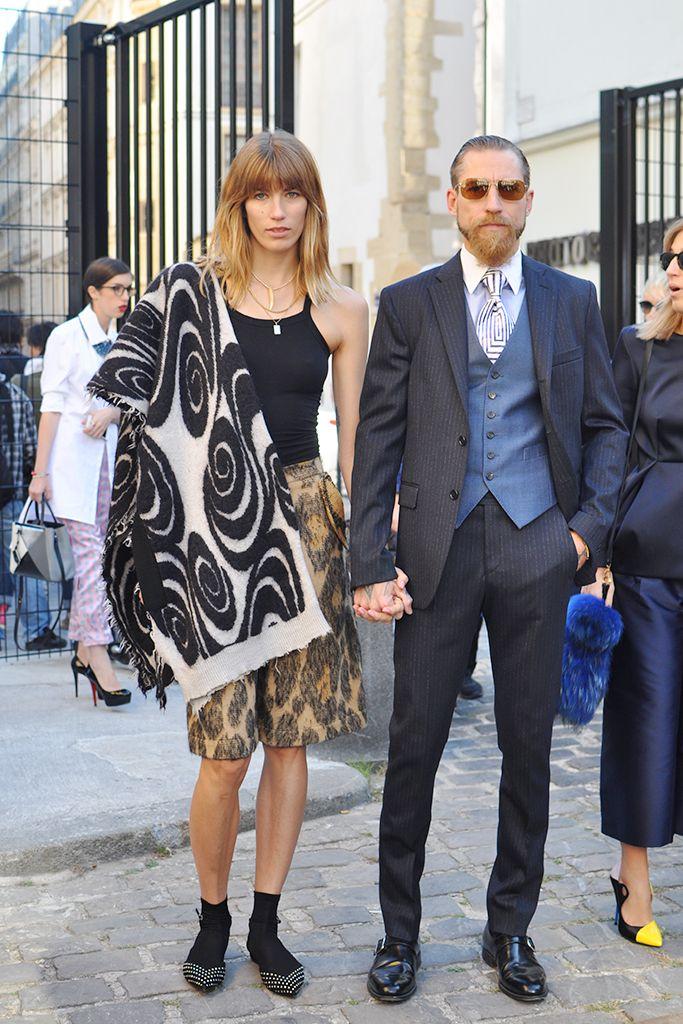 so cool. #VeronikaHeilbrunner & #JustinOShea in Paris.