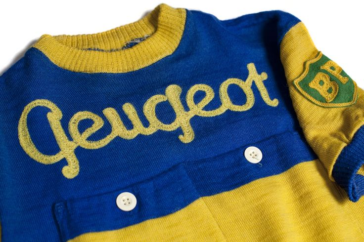 Peugeot BP 1962 Vintage Wool Cycling Jersey Maglia Maillot Cycliste Ancien SZ S…