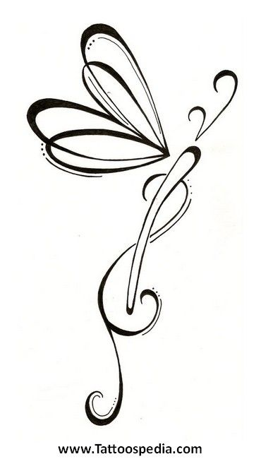35 best simple dragonfly tattoos celtic images on