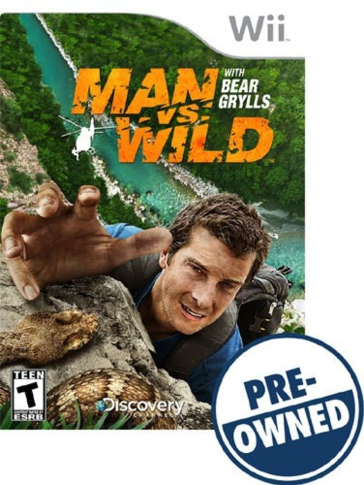 Man vs. Wild with Bear Grylls — PRE-Owned - Nintendo Wii
