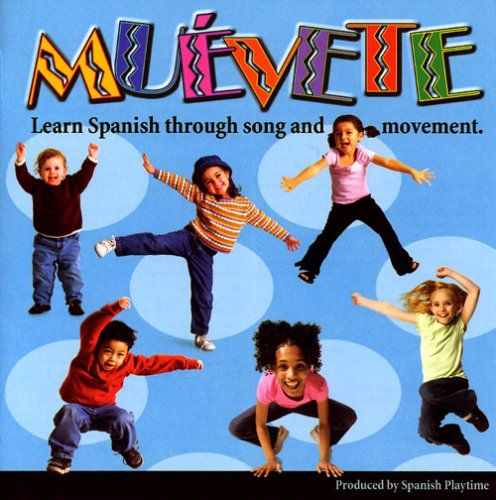 You've just discovered one of the best resources for kids to learn Spanish in a fun and exciting way! The Muvete CD offers simple, easy-to-understand Spanish songs performed by native Spanish speakers