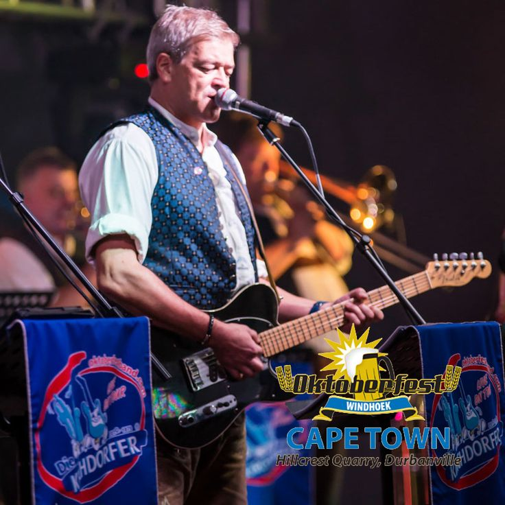 """Windhoek Oktoberfest in Cape Town at Hillcrest Quarry.  The Kirchdorfer band.    They have been the official band in the """"Hacker-Festzelt"""" at the Octoberfest in Munich since 1994 and w be flying in straight from there to perform at the Cape Town Oktoberfest"""
