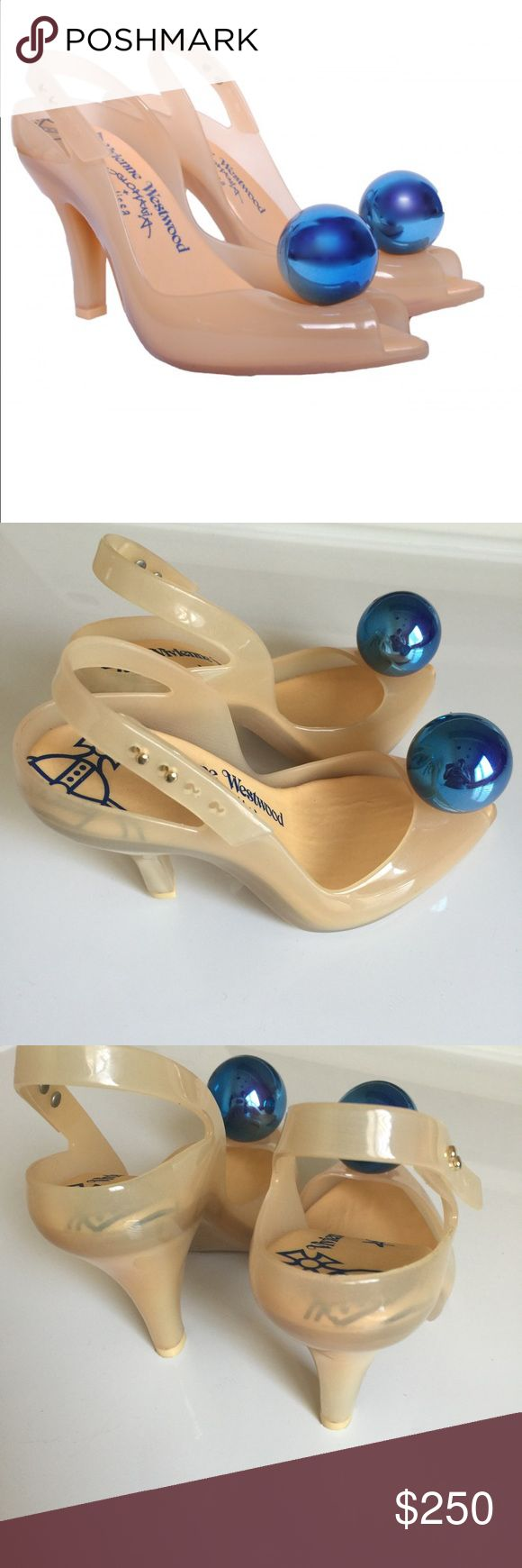Vivienne Westwood anglomania melissas That perfect something blue Vivienne Westwood anglomania lady dragon Melissa like new (sold out) HTF Vivienne Westwood Shoes Heels