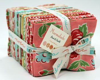 Fat Quarter Set--Marmalade by Bonnie and Camille for Moda Fabrics. $136.00, via Etsy.