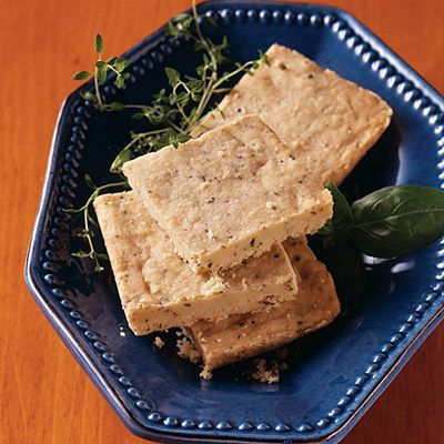 Melt-In-Your-Mouth Herbed Shortbread Recipe from Land O'Lakes