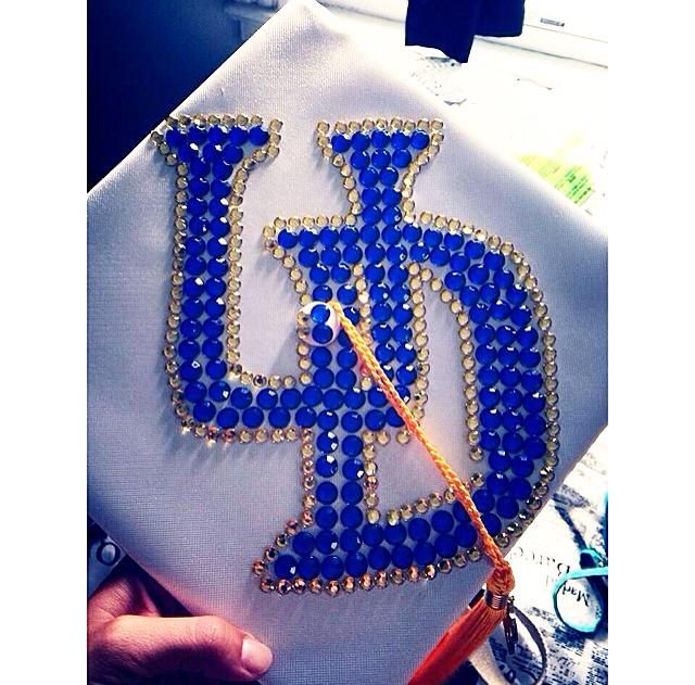 University of Delaware graduation cap