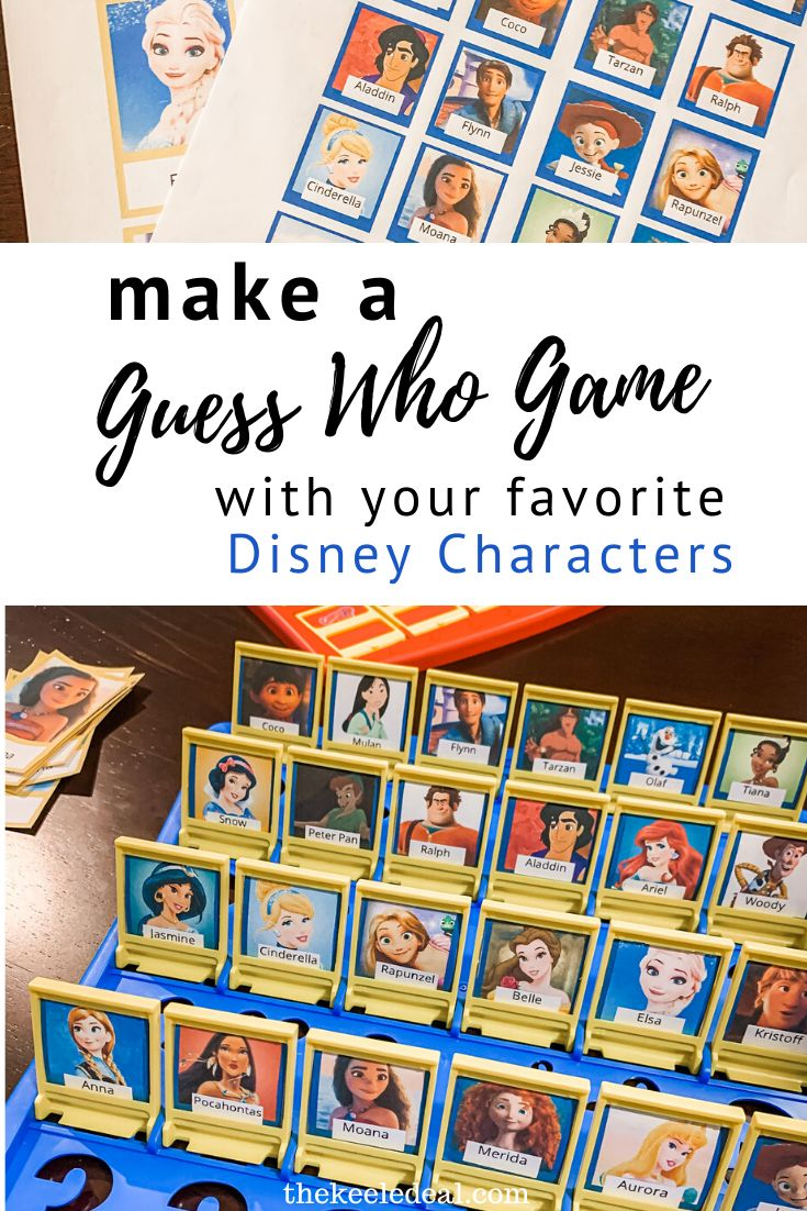 DIY Guess Who Personalized Game The Keele Deal in 2020