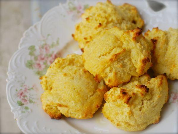 easy buttermilk cornbread drop biscuits | ChinDeep